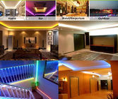IP20 Addressable 12V Ws2818B 5050 RGB Strip LED 120 Derajat Sudut Pandang pemasok