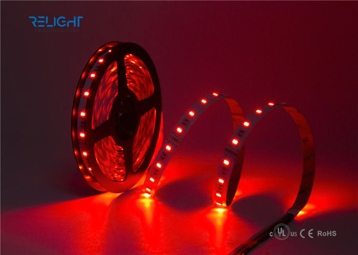 16.4ft 5M Waterproof 5050 SMD RGB Flexible LED Strip Lights Color Changing Decoration Lighting